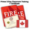 Certified Fire Protection Specialist 2-Day Classroom Training – Canada