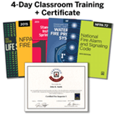 Certified Fire Inspector I, 4-Day Classroom Training (with Optional Certification Exam)