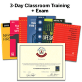 Certified Fire Inspector II, 3-Day Classroom Training (with Optional Certification Exam)