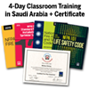 Certified Fire Plan Examiner: 4-Day Classroom Training – (with Optional Certification Exam) – Saudi