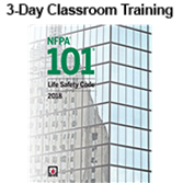 NFPA 101, Life Safety Code (2018) Essentials 3-day Classroom Training with Certificate of Educational Achievement