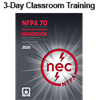 NFPA 70: National Electrical Code (NEC) (2017) Essentials 3-day Classroom Training with Optional Certificate of Educational Achievement