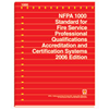 NFPA 1000: Standard for Fire Service Professional Qualifications Accreditation and Certification Systems, Prior Years