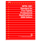 NFPA 1001: Standard for Fire Fighter Professional Qualifications, Prior Years