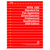 NFPA 1002: Standard for Fire Apparatus Driver/Operator Professional Qualifications, Prior Years