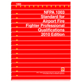 NFPA 1003: Standard for Airport Fire Fighter Professional Qualifications