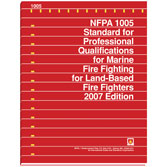 NFPA 1005: Standard for Professional Qualifications for Marine Fire Fighting for Land-Based Fire Fighters, Prior Years