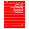 NFPA 1006: Standard for Technical Rescuer Professional Qualifications, Prior Years