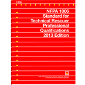 NFPA 1006: Standard for Technical Rescuer Professional Qualifications