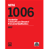 NFPA 1006: Standard for Technical Rescue Personnel Professional Qualifications
