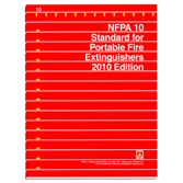 NFPA 10: Standard for Portable Fire Extinguishers