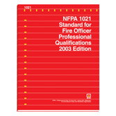 NFPA 1021: Standard for Fire Officer Professional Qualifications, Prior Years
