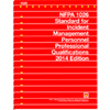 2014 NFPA 1026: Standard for Incident Management Personnel Professional Qualifications