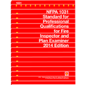 NFPA 1031: Standard for Professional Qualifications for Fire Inspector and Plan Examiner