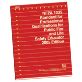 NFPA 1035: Standard for Professional Qualifications for Fire and Life Safety Educator, Public Information Officer, and Juvenile Firesetter Intervention Specialist, Prior Years