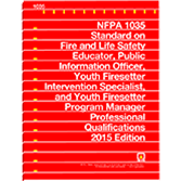 NFPA 1035: Standard for Professional Qualifications for Fire and Life Safety Educator, Public Inform