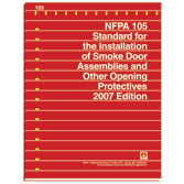 NFPA 105: Standard for Smoke Door Assemblies and Other Opening Protectives, Prior Years