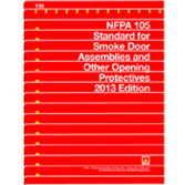 NFPA 105: Standard for Smoke Door Assemblies and Other Opening Protectives