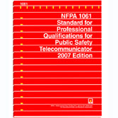 NFPA 1061: Standard for Professional Qualifications for Public Safety Telecommunications Personnel, Prior Years
