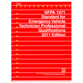 NFPA 1071: Standard for Emergency Vehicle Technician Professional Qualifications, Prior Years