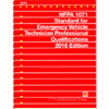 2016 NFPA 1071: Standard for Emergency Vehicle Technician Professional Qualifications