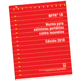 NFPA 10: Standard for Portable Fire Extinguishers, Spanish