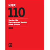 NFPA 110, Standard for Emergency and Standby Power Systems