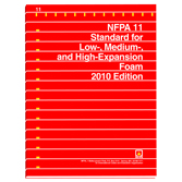 NFPA 11: Standard for Low-, Medium, and High-Expansion Foam