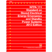 NFPA 111: Standard on Stored Electrical Energy Emergency and Standby Power Systems