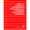 NFPA 111: Standard on Stored Electrical Energy Emergency and Standby Power Systems, 2016 Edition