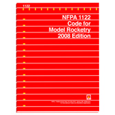 NFPA 1122: Code for Model Rocketry, Prior Years