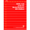 NFPA 1122: Code for Model Rocketry, 2013 Edition