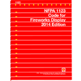 NFPA 1123: Code for Fireworks Display