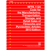 NFPA 1124: Code for the Manufacture, Transportation, Storage and Retail Sales of Fireworks and Pyrotechnic Articles, Prior Years
