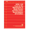 NFPA 1125: Code for the Manufacture of Model Rocket and High Power Rocket Motors, Prior Years