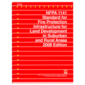 NFPA 1141: Standard for Fire Protection Infrastructure for Land Development in Wildland, Rural, and Suburban Areas, Prior Years