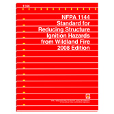 NFPA 1144: Standard for Reducing Structure Ignition Hazards from Wildland Fire, Prior Years
