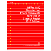 NFPA 1150: Standard on Foam Chemicals for Fires in Class A Fuels