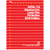 NFPA 115: Standard for Laser Fire Protection