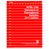 NFPA 1192: Standard on Recreational Vehicles, Prior Years