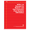 1999 NFPA 11A: Standard for Medium- and High-Expansion Foam Systems