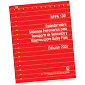NFPA 130: Standard for Fixed Guideway Transit and Passenger Rail Systems, Spanish