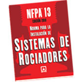 NFPA 13:  Standard for the Installation of Sprinkler Systems, Spanish