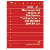NFPA 1401: Recommended Practice for Fire Service Training Reports and Records, Prior Years