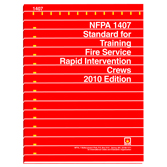 NFPA 1407: Standard for Training Fire Service Rapid Intervention Crews, Prior Years