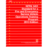 NFPA 1451: Standard for a Fire and Emergency Service Vehicle Operations Training Program