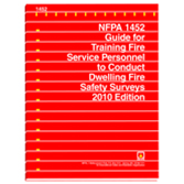 NFPA 1452: Guide for Training Fire Service Personnel to Conduct Dwelling Fire Safety Surveys