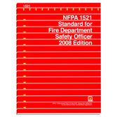 NFPA 1521: Standard for Fire Department Safety Officer Professional Qualifications, Prior Years