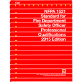 NFPA 1521: Standard for Fire Department Safety Officer Professional Qualifications