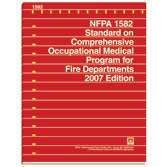 NFPA 1582: Standard on Comprehensive Occupational Medical Program for Fire Departments, Prior Years